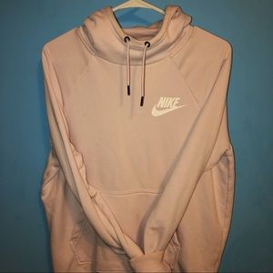 Nike Baby/Light Pink Long Sleeve Hoodie